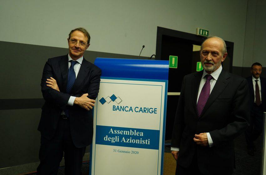 Carige, assemblea nomina nuovo cda. Guido AD, Calandra Buonaura presidente