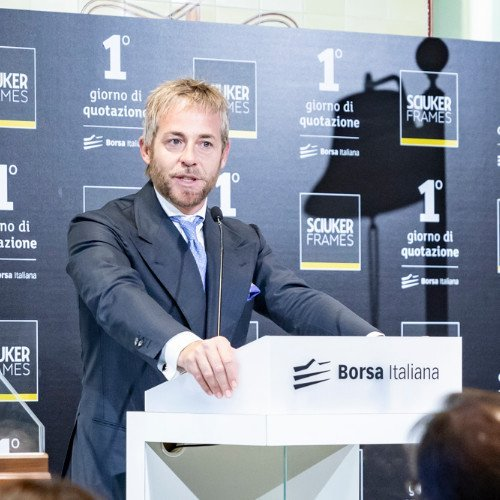 Intesa Sanpaolo eroga 1,5 milioni a Sciuker Frames