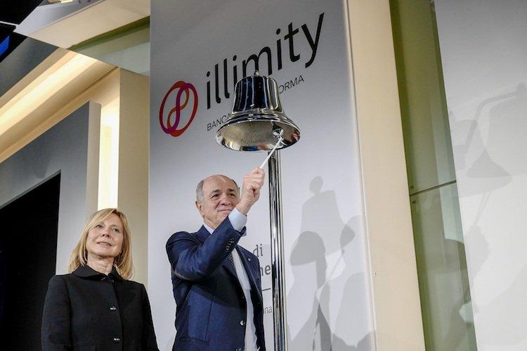 Illimity, obiettivo un utile netto a 280 milioni nel 2023