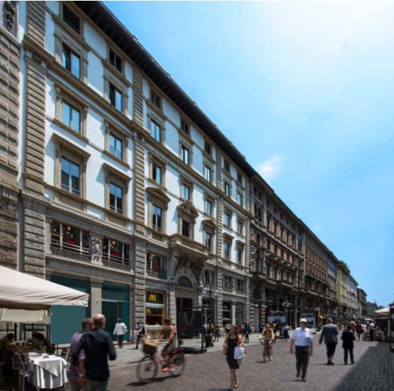 Amundi RE Italia compra edificio in via Dante per 103,5 milioni