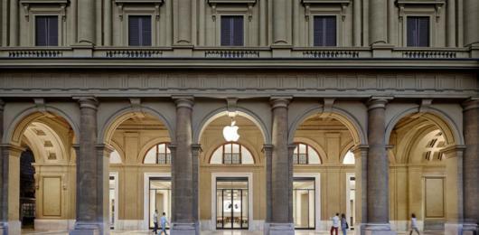 Bnl cede l'Apple Store di Firenze ai tedeschi di Triuva per 37 mln