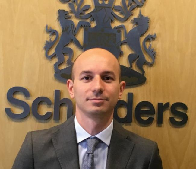 Schroders nomina Fabrizio Bianchi head of institutional business