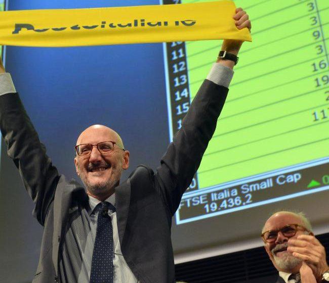 Poste Italiane debutta a Piazza Affari