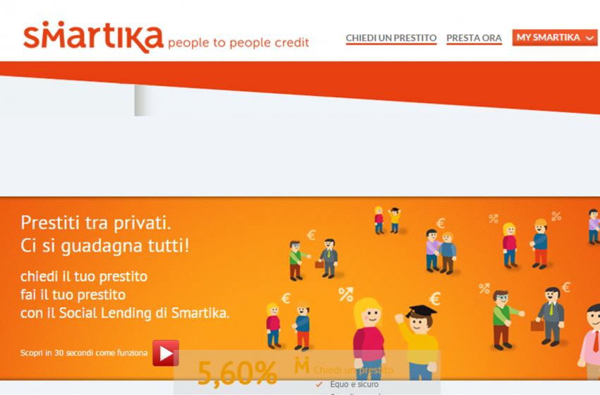 Sella acquisisce Smartika e lancia la piattaforma di social lending