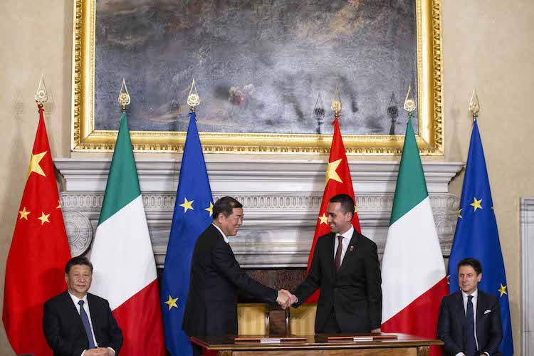 I 29 accordi Italia-Cina del Mou, Cdp in prima fila