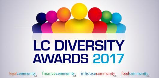 Legalcommunity Diversity Awards, i Vincitori