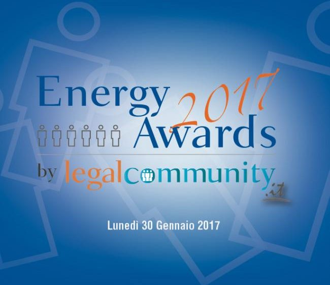 Legalcommunity Energy Awards 2017, i vincitori