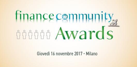 Financecommunity Awards 2017, il primo bilancio dall'apertura del voto