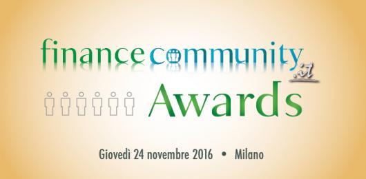 Con il voto online partono i Financecommunity Awards 2016
