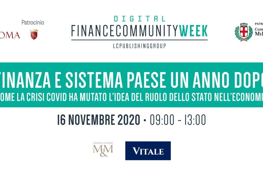 Financecommunity Week 2020, il diario della prima giornata – VIDEO