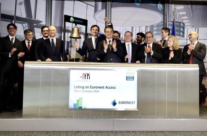 Innovative-RFK è approdata su Euronext Access. Capitalizzazione 10,5 milioni