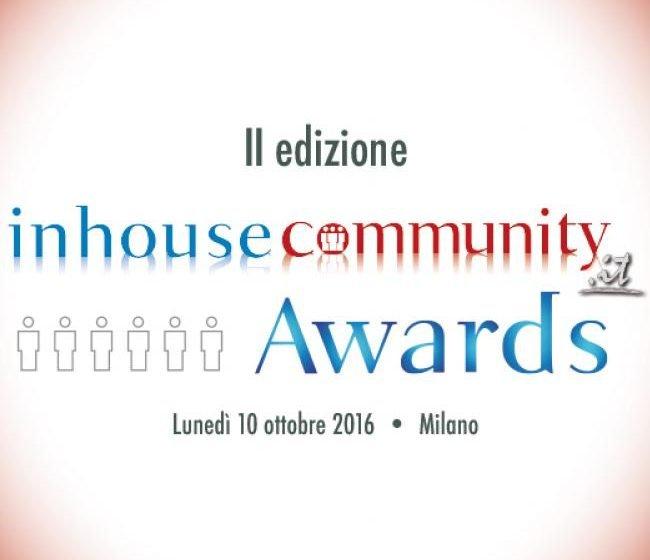 Inhousecommunity Awards 2016, i vincitori