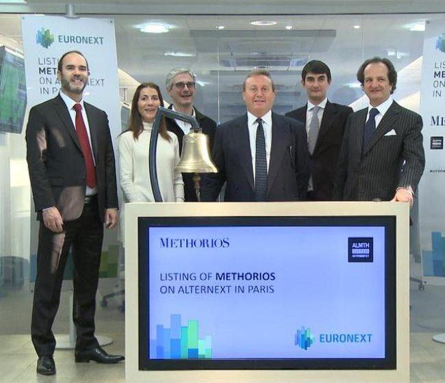 Methorios Capital alla Bell Ceremony del NYSE Euronext di Parigi
