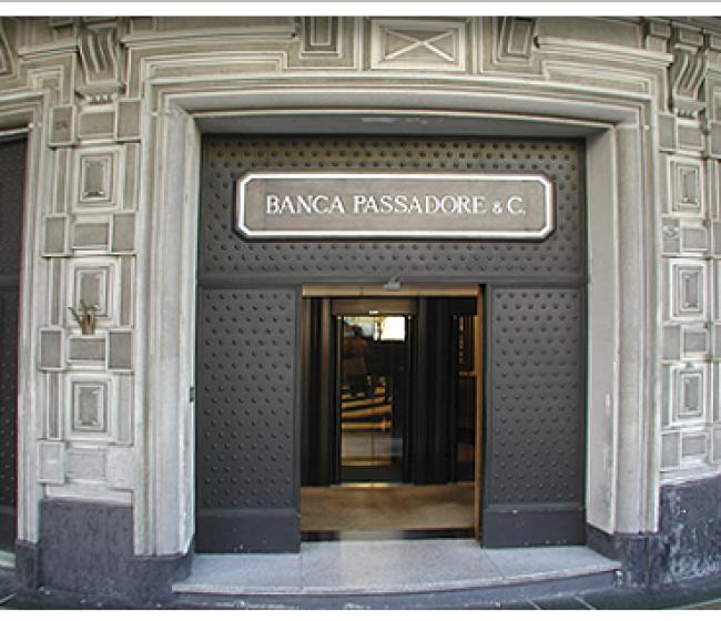 BANCA PASSADORE, 15 MLN PER LE IMPRESE DELLE ZONE ALLUVIONATE