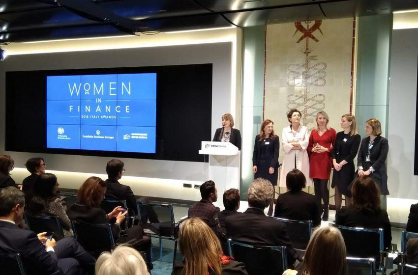 Women in Finance, al via la II edizione del premio per le donne della finanza