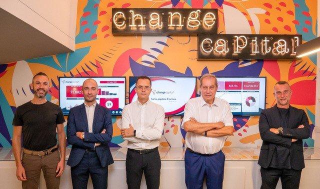 Change Capital aumenta il capitale in sinergia con Banca Popolare di Cortona