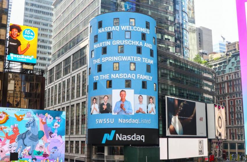 Springwater Capital ha completato la quotazione al Nasdaq americano